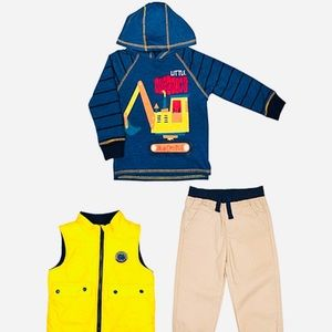 Heavy Duty Wrecking Crew 3 Piece Set 2T NWT